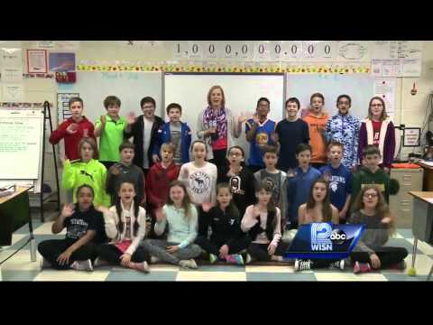 03/18 Shout Out: Fifth-graders at Oriole Lane Elementary School, Mequon