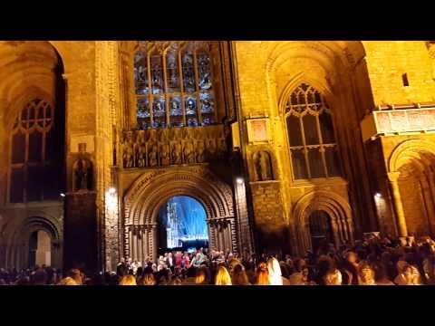 Jesus Christ superstar lincoln cathedral 2015