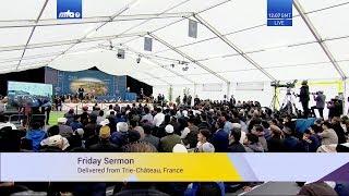 Проповедь Хазрата Мирзы Масрура Ахмада (04-10-2019)