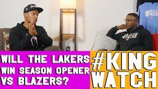 Will Lakers Win First Game vs Portland Trailblazers | Hoops N Brews
