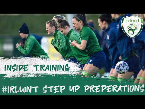 INSIDE TRAINING | #IRLWNT step up Denmark preparations