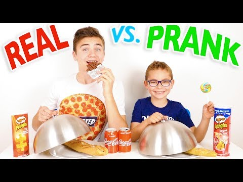 PRANK FOOD VS REAL FOOD CHALLENGE - Blague ou Vraie Nourriture ?