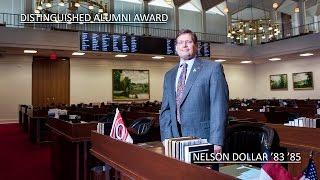 Appalachian State University Distinguished Alumnus Award 2015: Rep. Nelson Dollar '83 '85