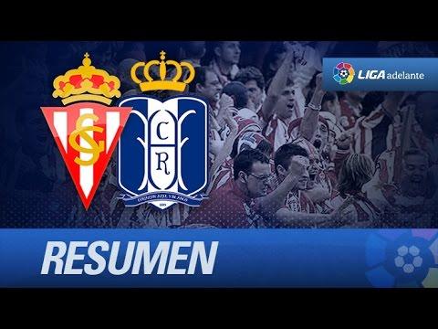 Resumen de Sporting de Gijón (1-1) Recreativo de Huelva