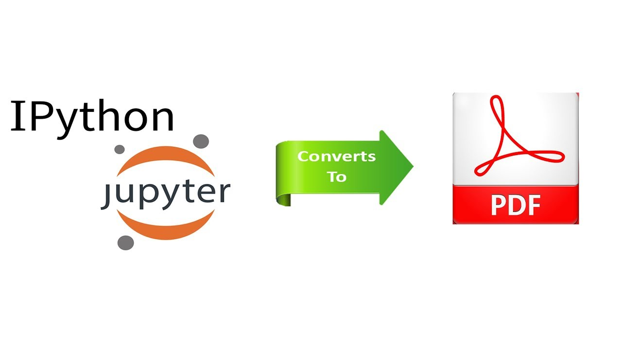 convert ipython notebook to pdf (Best and Easy way)