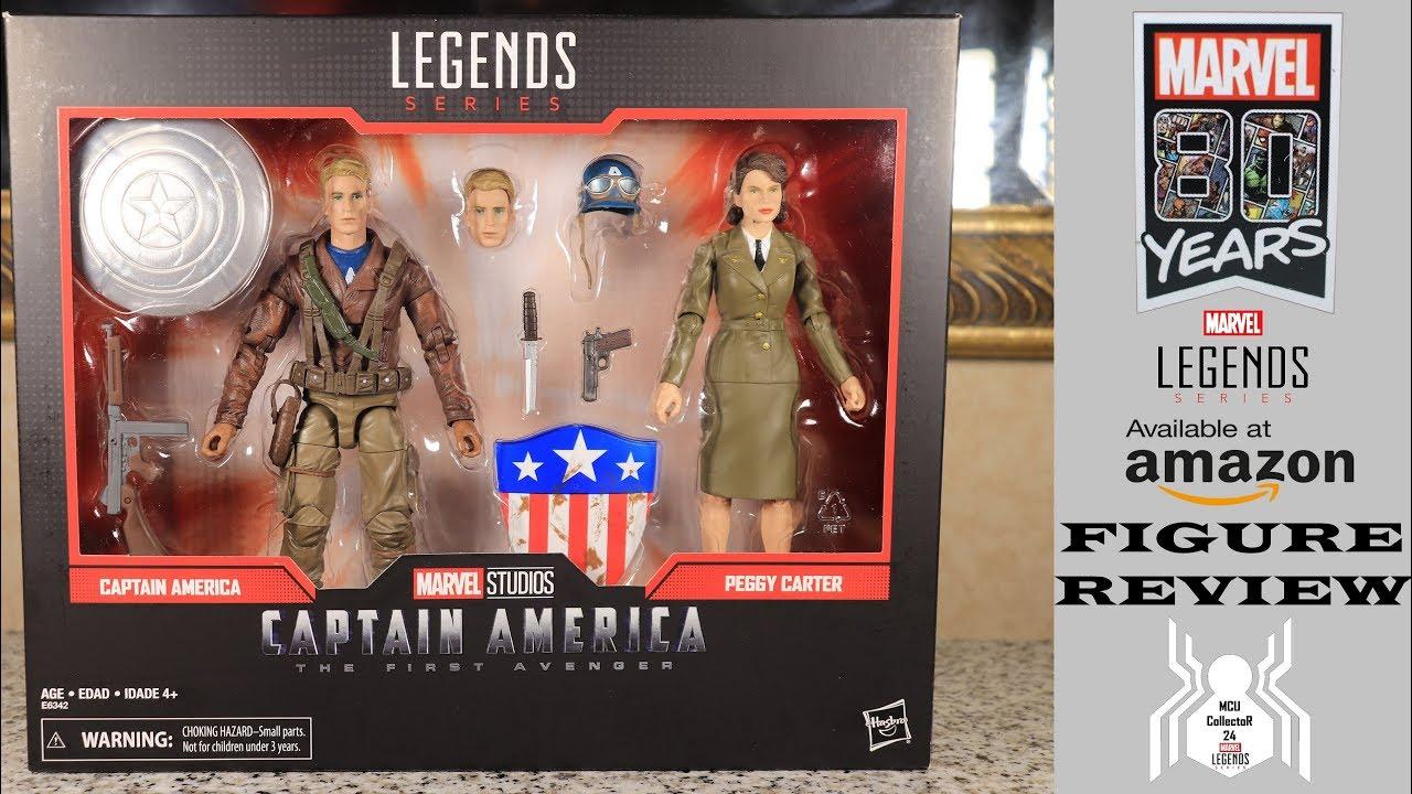 Marvel Studios Legends Series Captain America The First Avenger /& Peggy Carter