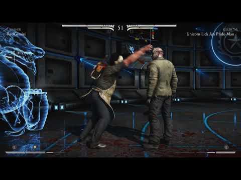 Mortal Kombat X Leatherface vr Jason Vorhees