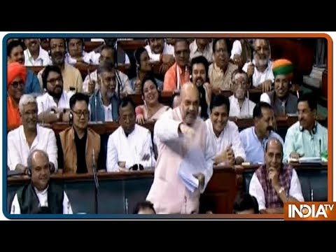 'Nehru Created Kashmir Problem', Amit Shah Attacks Congress in Lok Sabha