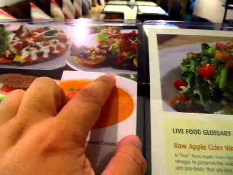 Rasayana Raw Living Food Cafe Hawaiian Pizza Eggplant Lasagna & Dessert Emporium - Phil in Bangkok