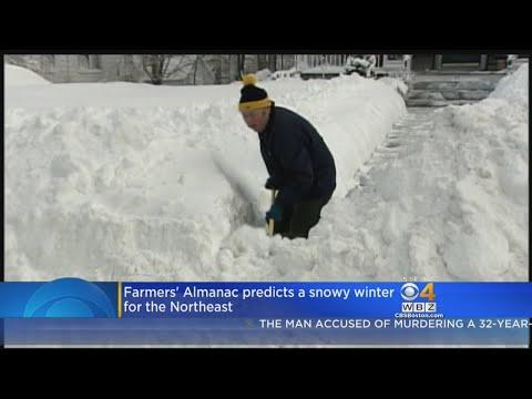 Farmer's Almanac Predicts Plenty Of Cold, Snow For Northeast This Winter