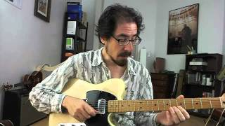 50 Jazz Blues Licks - #17 Hank Mobley - Guitar Lesson - David Hamburger
