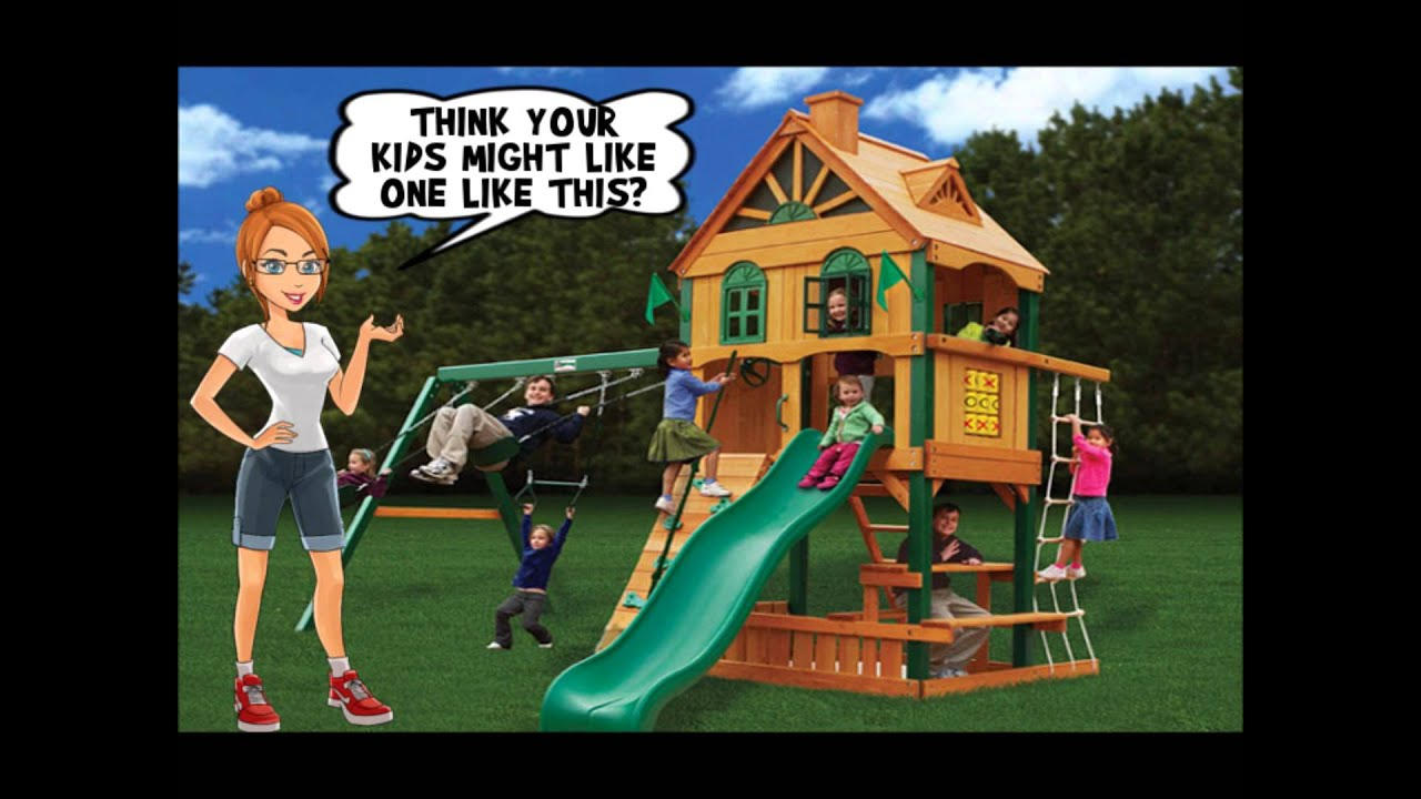 Big Backyard Swing Sets Part 1   Cool Kids Swing Sets Exposed!   YouTube