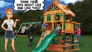 Big Backyard Swing Sets Part 1 - Cool Kids Swing Sets Exposed!