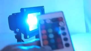 Светодиодный RGB прожектор 10w купить(Светодиодный RGB прожектор 10w купить http://LEDPROJECTORS.RU., 2015-12-20T14:47:23.000Z)