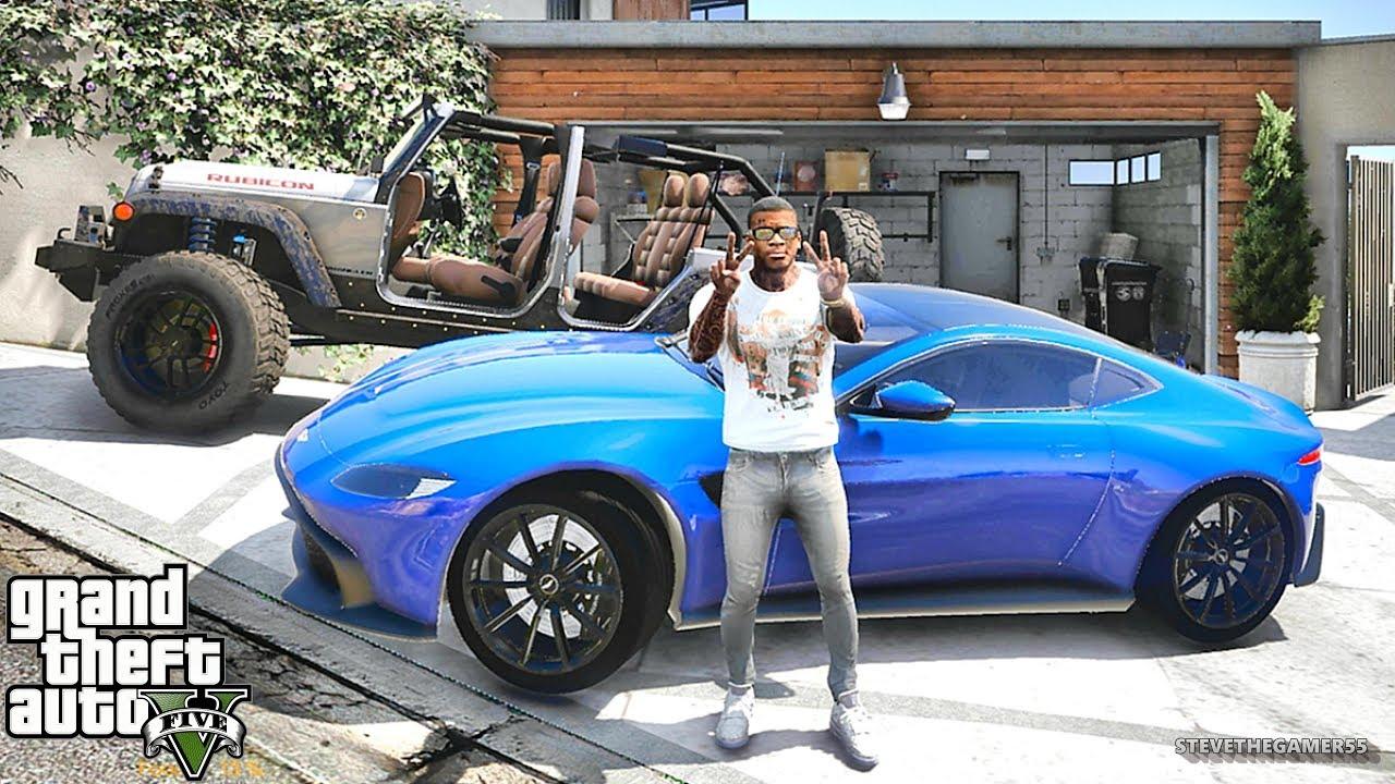 GTA 5 REAL LIFE MOD #365 UBER IN A 2019 ASTON MARTIN!!! (GTA 5 REAL LIFE MODS)