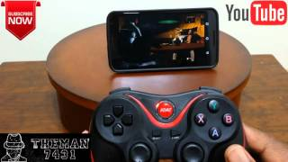 ( HOW TO CONNECT ) TERIOS T-3 BLUETOOTH GAMEPAD