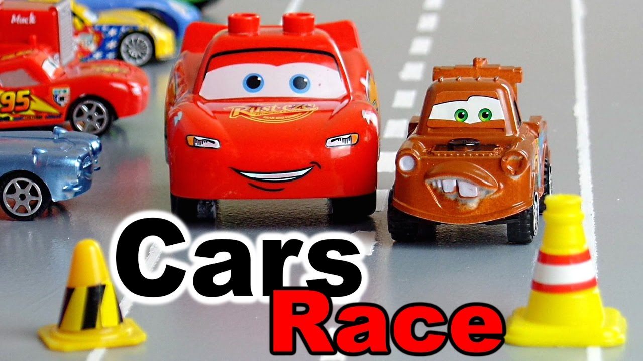 cars 2 toys kinder auto film race stop motion autos. Black Bedroom Furniture Sets. Home Design Ideas