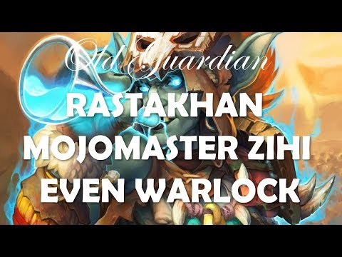 How to play Even Warlock with Mojomaster Zihi (Hearthstone Rastakhan deck guide)
