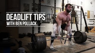 Deadlift Tips with Ben Pollack | JTSstrength.com