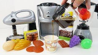 Toy Kitchen Playset for Children: Kids Gourmet Deluxe Kitchen Appliances