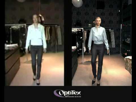 OptiTex Fashion Virtual Catwalk vs Real / 3D Simulation