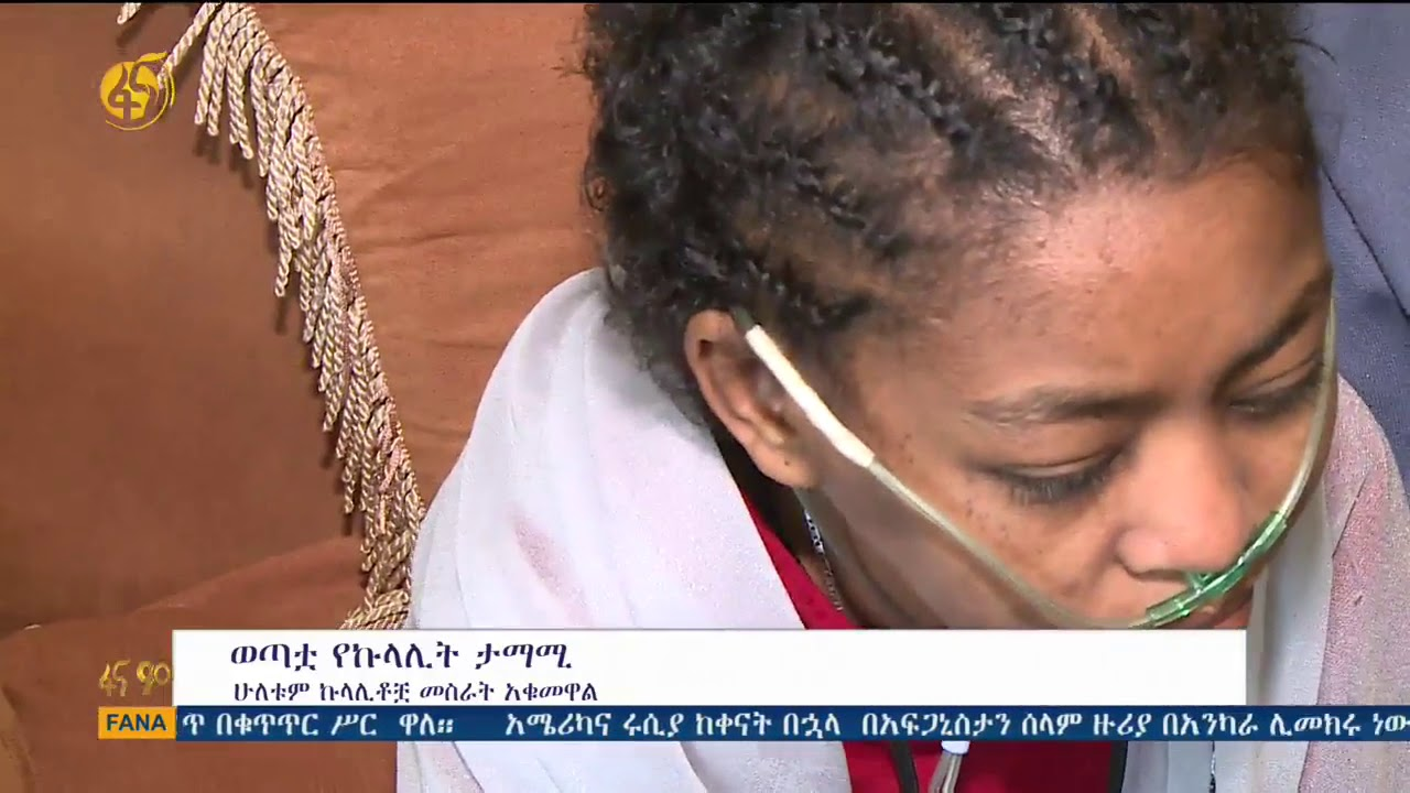 Story Ethiopian Young Woman With Kidney Failure