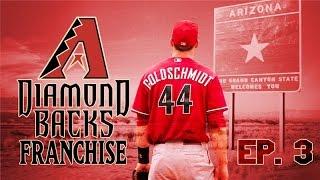 MLB 15 The Show PS4: Arizona Diamondbacks Franchise: Ep. 3: Archie Bradley MLB Debut vs LA Dodgers