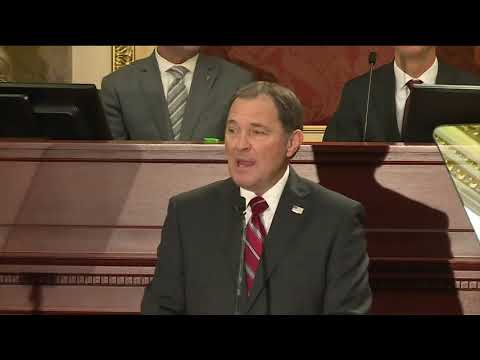 """2018 State of the State Address, """"Utah's Spirit of Collaboration"""""""