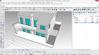 Create and edit parametric columns in Rhino with VisualARQ