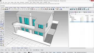 Create and edit parametric columns in Rhino with VisualARQ 1