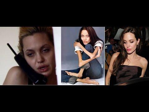 Angelina Jolie es anorexica y drogadicta