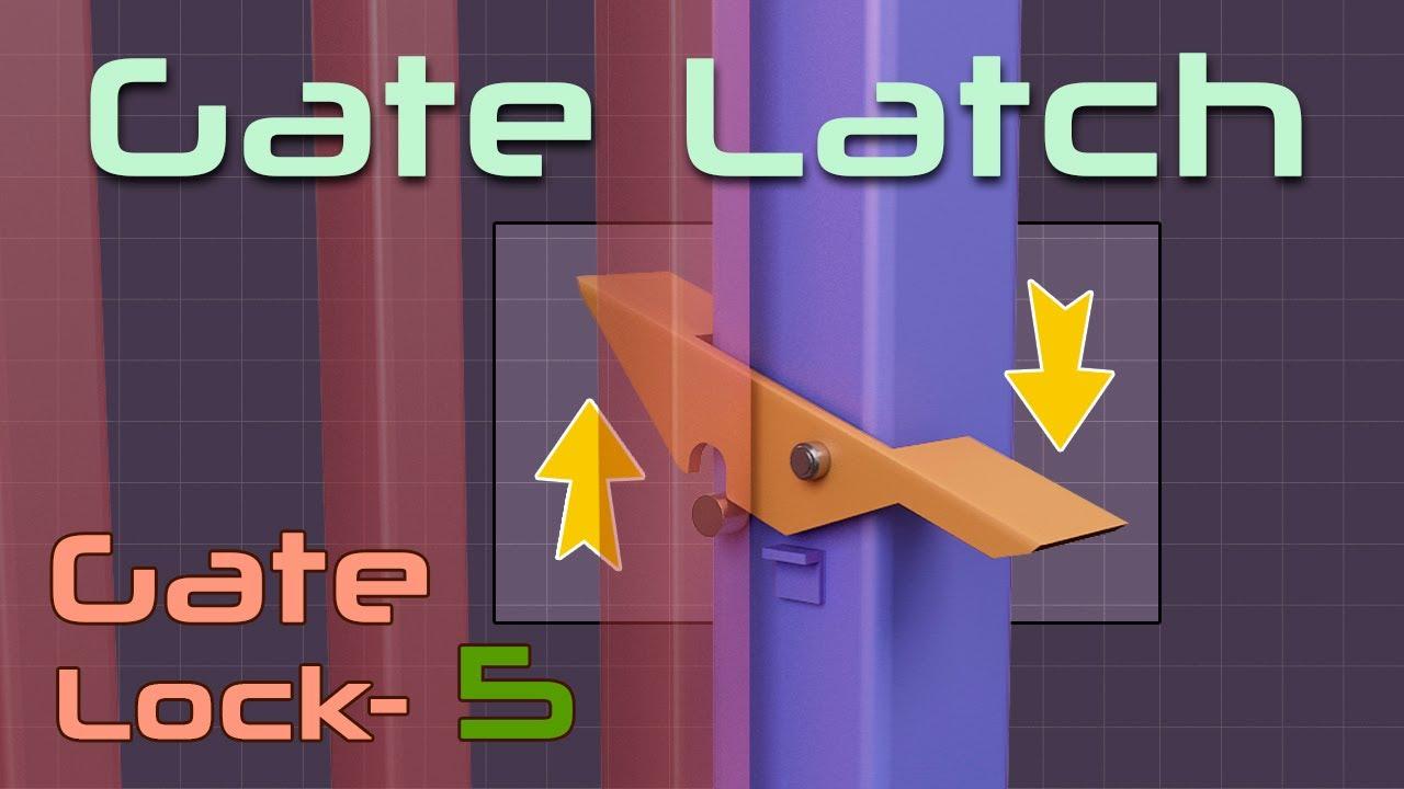 Gate Lock Idea 5