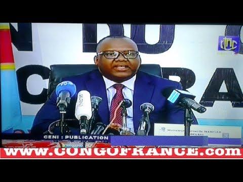 """SUIVEZ EN DIRECT DE LA CENI LE NOM DU """" VAINQUEUR"""" PUBLICATION DES RÉSULTATS ELECTIONS RD CONGO"""
