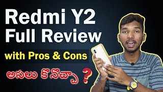 Redmi Y2 Full Review With Pros & Cons || in Telugu