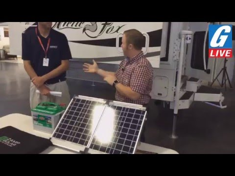 G-Live Presents: Zamp Solar Panel set-up and 2017 Arctic Fox