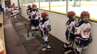 Kids HocKey Triple A Game Buffalo Regals vs Halton Hurricanes