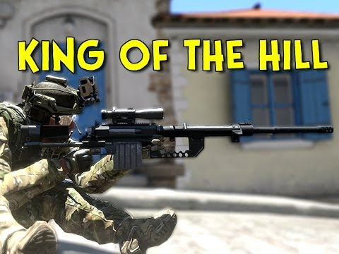 KING OF THE HILL! - Arma 3 (Sniper Team)