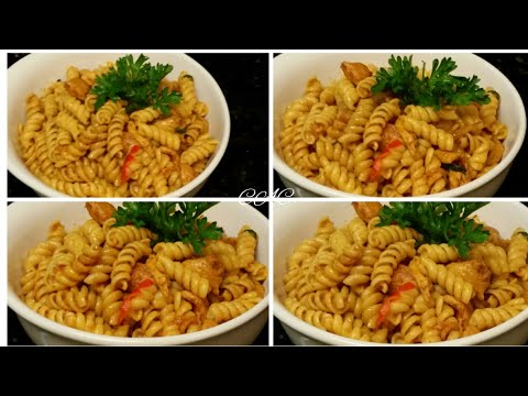 Easiest and Yummiest Pasta Recipe l Spicy Chicken Pasta Quick and Easy Recipe