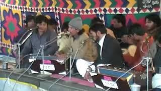 Chamkty chand ko tutha hoa Tara bana dala. Ghazal by Ali Abbas Hajiwala on the stage of darbar WWSS