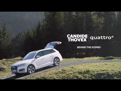 audi quattro pub with candide thovex making of youtube. Black Bedroom Furniture Sets. Home Design Ideas