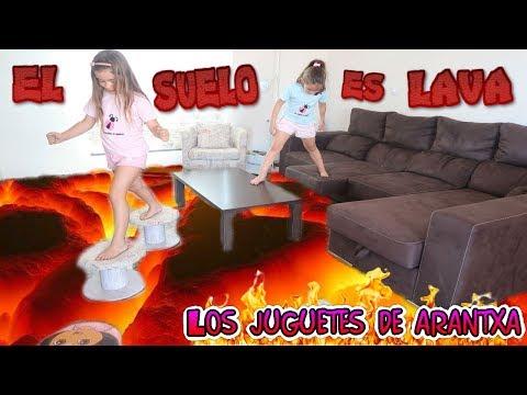 El suelo es lava - The floor is lava challenge