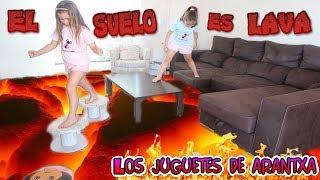 el suelo es lava the floor is lava challenge