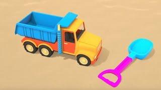 Мультики для самых маленьких Песочница для малышей Развивающие мультфильмы две серии