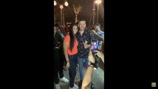 Luis Ángel Franco sorprende a fans en el malecón de Mazatlán cantando vida prestada