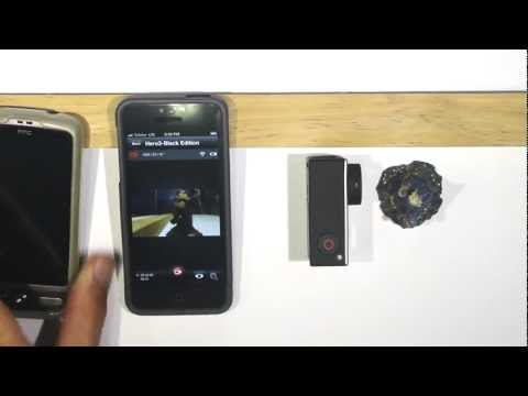 GoPro HERO3 + GoPro APP - Preview Not Supported - Android Smartphone VS iPhone 5