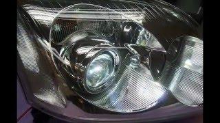 Toyota Avensis T25 2003-2006 falta iluminacion