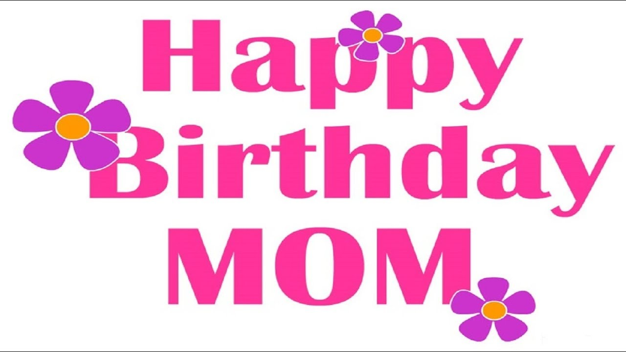 Happy Birthday Mommy 30