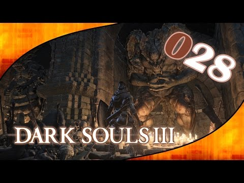 DARK SOULS 3 #028 - Schwelender See & Dämonenruinen [Lets Play Dark Souls 3 deutsch german]