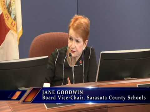 Sarasota County School Board Meeting 1-23-18 Pt.2