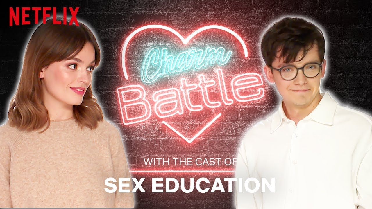 Flirting with British Accents: Sex Education | Charm Battle | Netflix #1